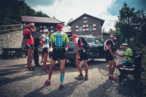 AVP 501 Endurance trail Alta Via dei Parchi, ristoro, rifiugio, atleti
