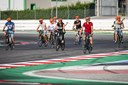 In bici al circuito di Misano Adriatico Moto GP Motor Valley