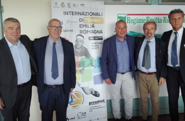 Tennis internazionali Parma 2019 conf stampa