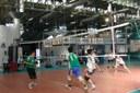 Pallavolo, palestra, ragazzi, sport, impianto sportivo
