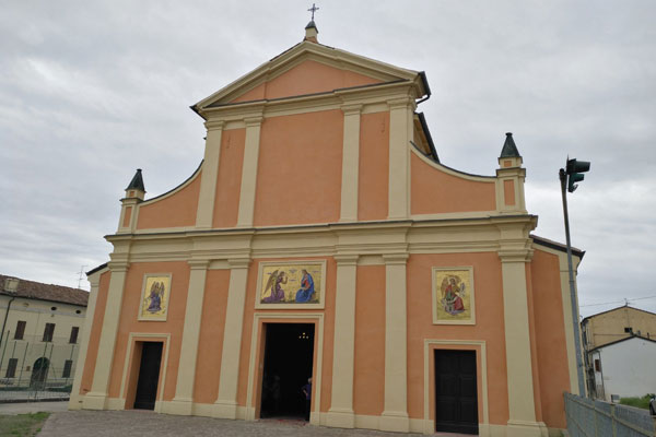 Chiesa di Santa Maria Annunciata, Brugneto di Reggiolo