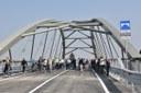 Inaugurazione ponte Bomporto (Mo). Ricostruzione post sisma (11/11/2017)
