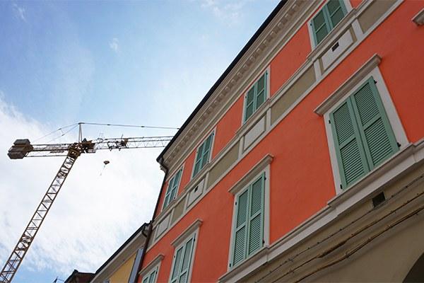 Ricostruzione 6 anni, abitazione privata