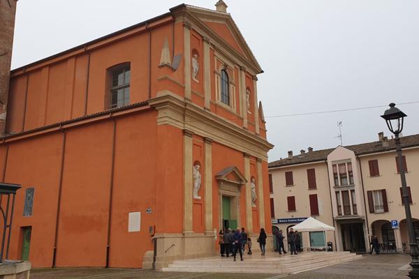 Sant'Agata  chiesa ricostruzione sisma 2012
