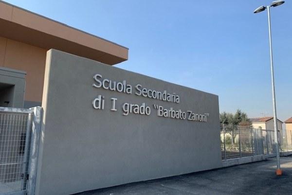 Scuola Concordia sulla Secchia (Mo) inaugurazione 10-02-2019_facciata