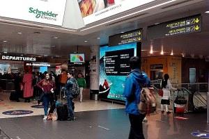 Aeroporto, viaggio, partenza, turismo, arrivo