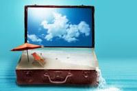agenzia viaggio turismo valigia mare spiaggia vacanza