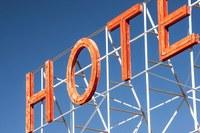 Hotel, alberghi, insegna