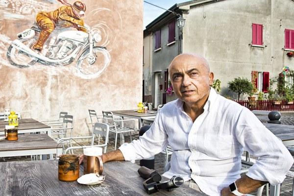 Paolo Cevoli, serie Romagnoli Dop, copertina, web serie