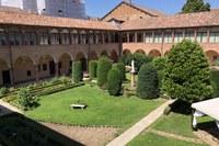 Chiostro Monastero convento Santa Chiara Carpi