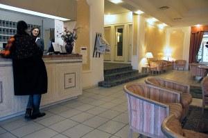 Albergo, hotel, hall albergo, portineria