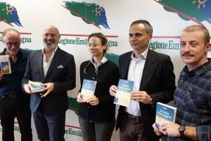 Bonaccini e Corsini, Lonely Planet Emilia-Romagna, novembre 2019