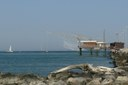 Porto Garibaldi casone scogli spiaggia