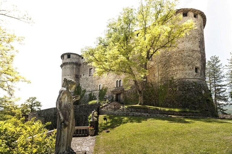 Castello di Compiano - esterno