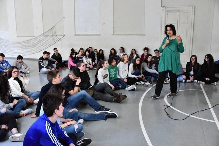 Elena Buccoliero incontra gli studenti del Romagnosi
