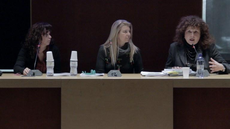 Irene Sisi, Claudia Francardi, Desi Bruno