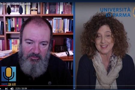 """""""Di chi sono le vittime?"""". Intervista di Chiara Scivoletto a Carlo Lucarelli per UniPr On Air"""