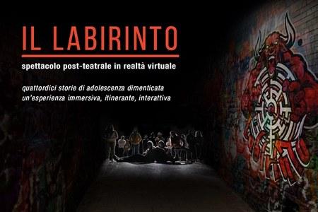 Politico Poetico si è concluso con il Labirinto, spettacolo post-teatrale in realtà virtuale