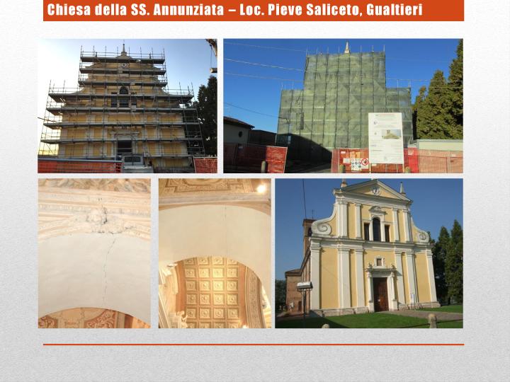 Chiesa della SS. Annunziata – Loc. Pieve Saliceto, Gualtieri
