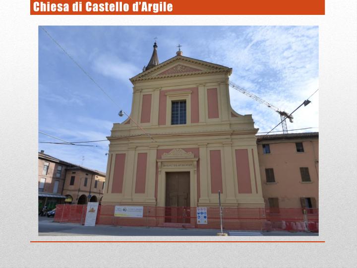Chiesa di Castello d'Argile