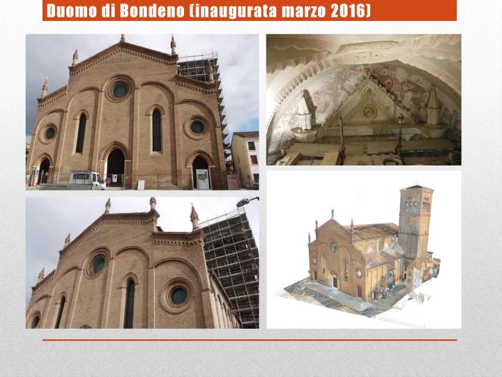 Duomo di Bondeno (inaugurata marzo 2016)