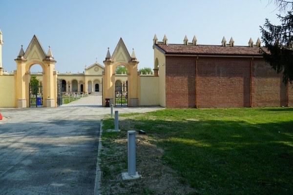 Inaugurazione Cimitero monumentale Concordia esterno