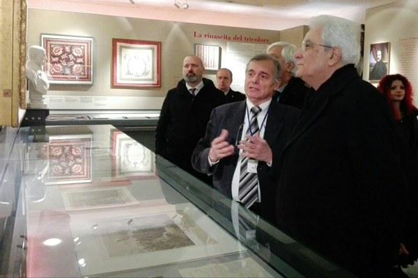 Mattarella e Bonaccini al museo del Tricolore - 2