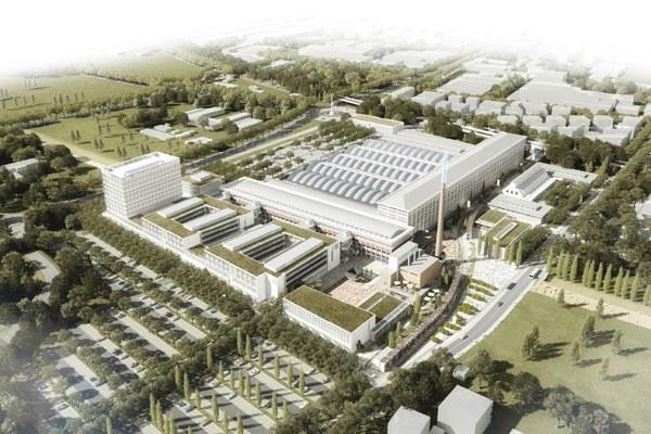 Il rendering del data center del centro meteo europeo