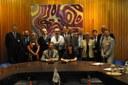 Team di progetto ECMWF e membri della delegazione italiana