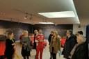 Bienkowska, Bonaccini, Costi e Bianchi al museo Ferrari