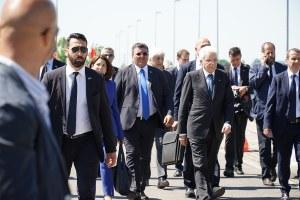 Il presidente Mattarella a Mirandola e Pieve di Cento (29/05/2017)