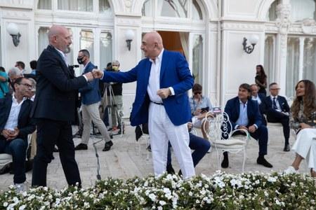 """Inaugurazione della mostra """"Colpi da maestro"""" (Rimini, 30 giugno 2021)"""