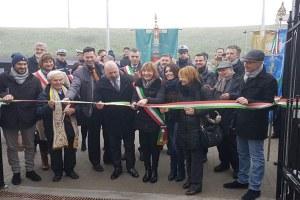Inaugurazione scuole a Camposanto