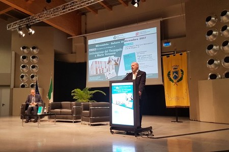 Intitolazione Tecnopolo Mirandola (Mo) a Mario Veronesi