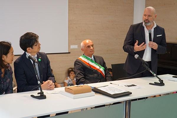 L'intervento del presidente Bonaccini