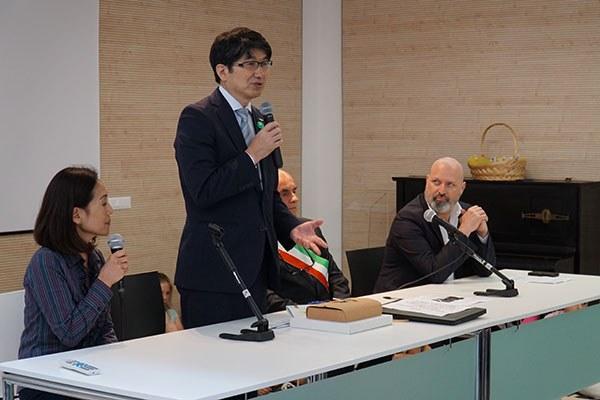 L'intervento del sindaco di Nagasaki