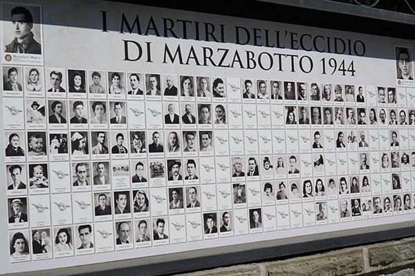 I martiri dell'eccidio di Marzabotto