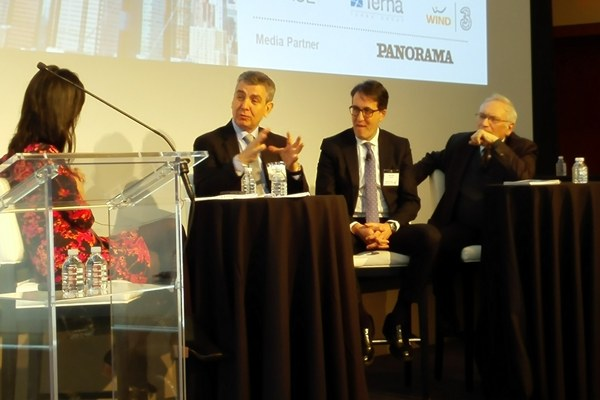 """L'assessore Patrizio Bianchi al forum """"Italy meets the United States"""""""
