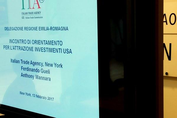 All'Ice di New York con le imprese emiliano-romagnole