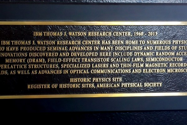"Ibm, visita al ""Thomas J.Watson Research Center"""