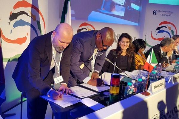 Firma accordo Emilia-Romagna Guateng