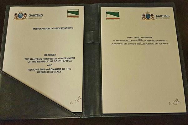 L'accordo firmato
