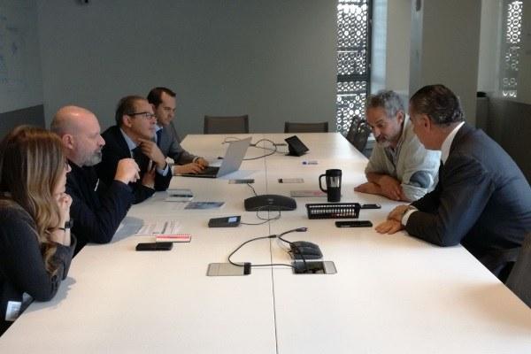 Incontro con Dough Stayman (in alto a destra), prorettore di Cornell Tech