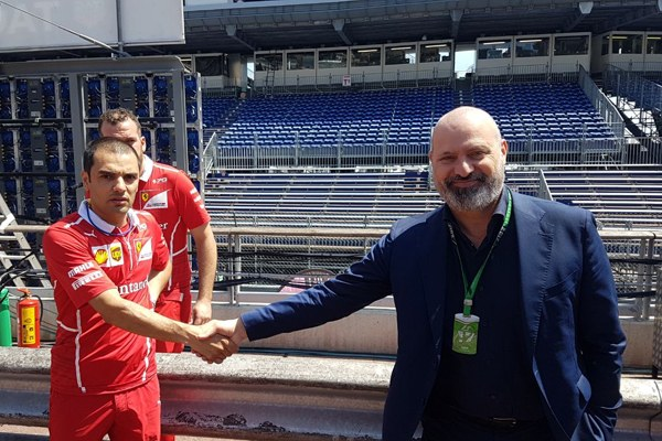 Il presidente Bonaccini al Team Ferrari - 2