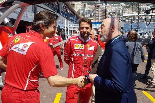 Il presidente Bonaccini al team Ferrari - 3