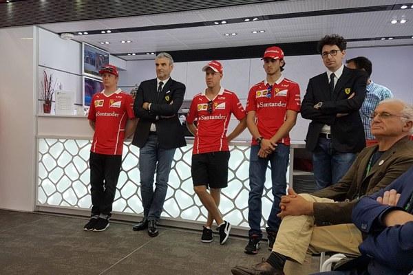 Il Team Ferrari