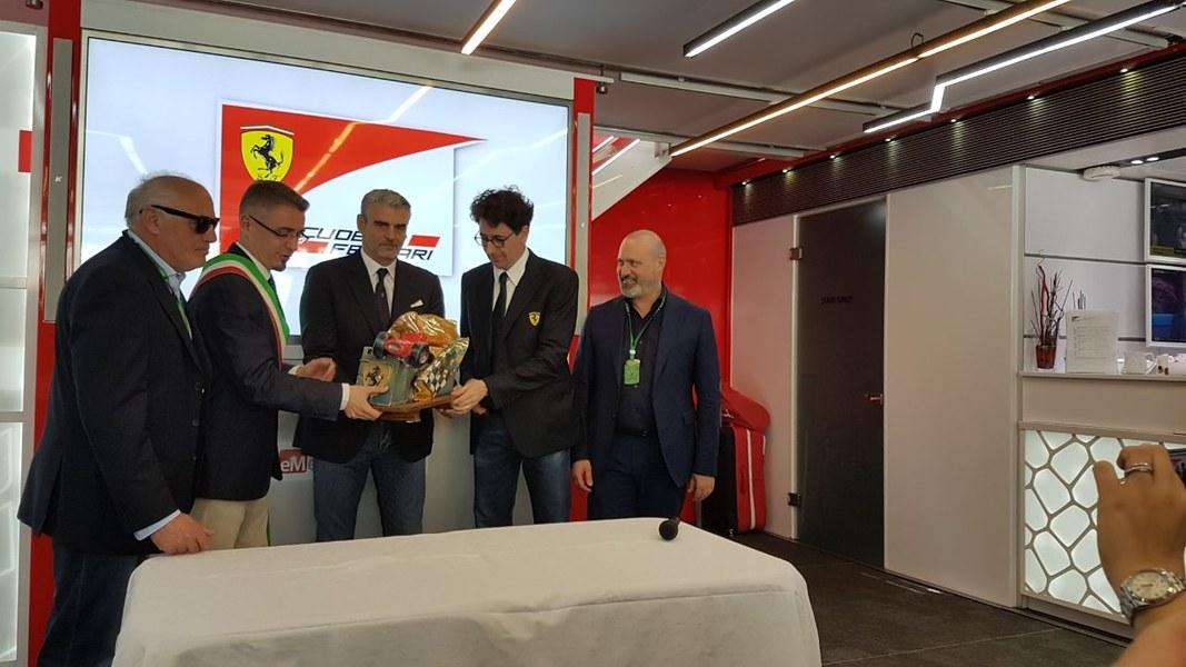 La consegna del Trofeo Bandini