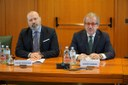I presidenti Bonaccini e Maroni
