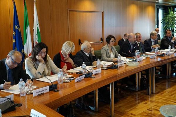 La Giunta della Regione Emilia-Romagna al tavolo Autonomia 116