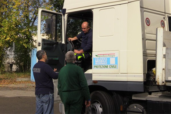 Preparazione dei materiali a Bologna